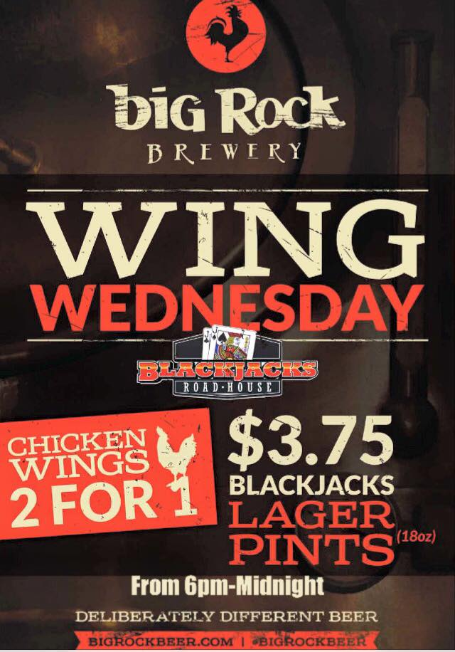 wing weds poster