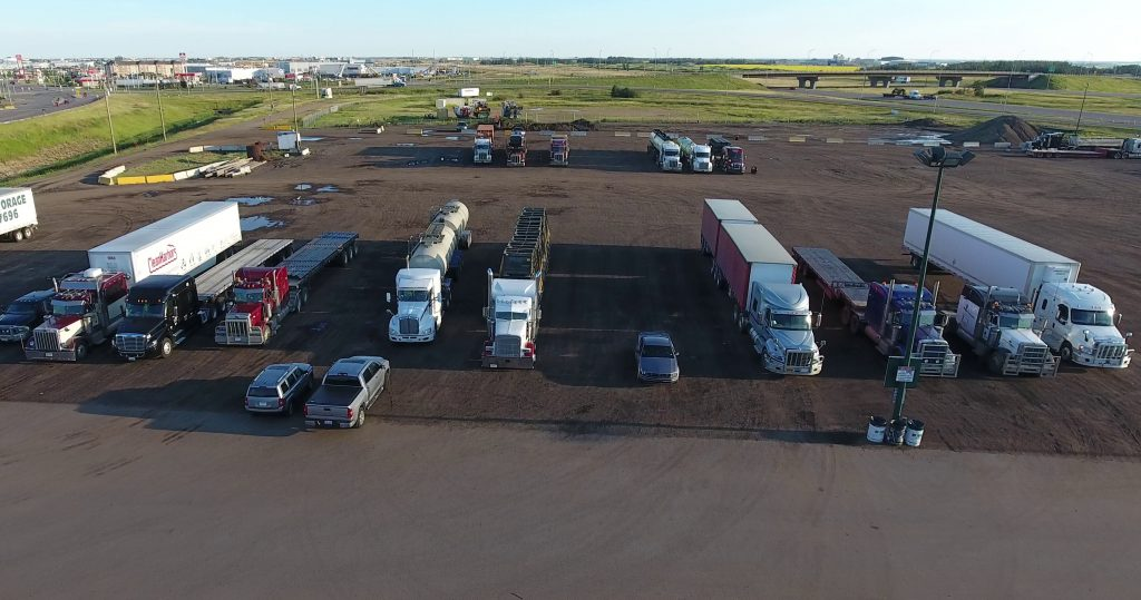 Canada's Best Truck Stop - The BEST place to park when you're in the Edmonton area.